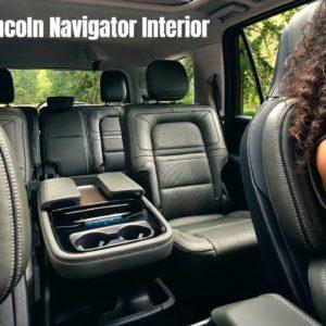 2022 Lincoln Navigator Interior