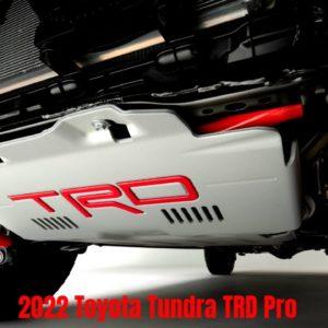 2022 Toyota Tundra TRD Pro Suspension Teased