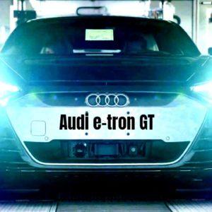 Audi e-tron GT Smart Production Facility