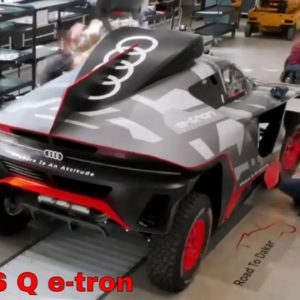 Building The Audi RS Q E Tron