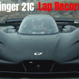 Czinger 21C Lap Record at Laguna Seca Raceway