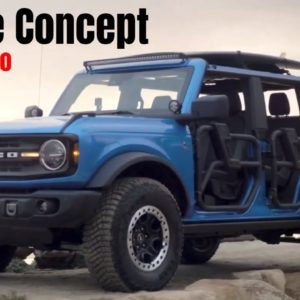 Ford Bronco Riptide Concept with Sasquatch Package Revealed