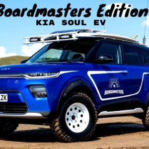 Kia Soul EV Boardmasters Edition