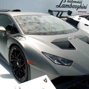 Lamborghini Special Models at Monterey Car Week