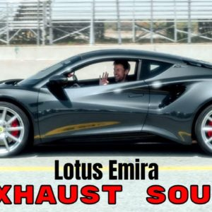 Lotus Emira Exhaust Sound Driven By Jenson Button
