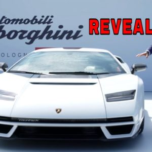 New Lamborghini Countach LPI 800 4 Unveiling