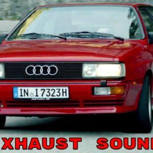 1988 Audi Quattro Exhaust Sound
