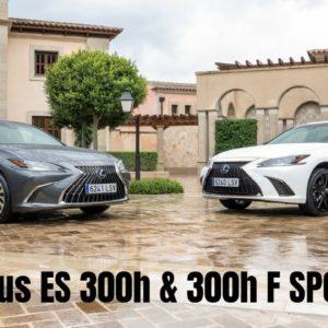 2021 Lexus ES 300h & 300h F SPORT