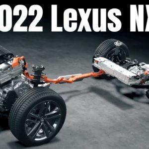 2021 Lexus NX Drivetrain and Battery