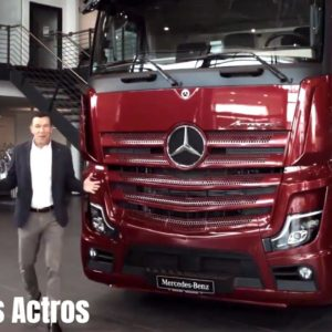 2021 Mercedes Actros L and Truck Lineup Revealed