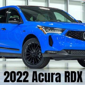 2022 Acura RDX Revealed