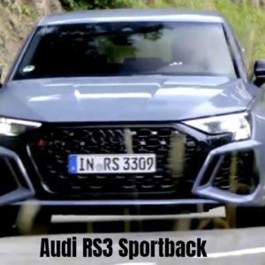 2022 Audi RS3 Sportback in Kemora Grey