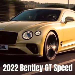 2022 Bentley GT Speed in Julep Yellow
