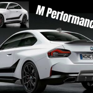 2022 BMW 2 Series Coupe M Performance Parts