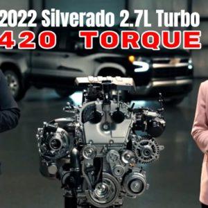 2022 Chevrolet Silverado 2.7 Liter Turbo Engine