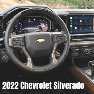 2022 Chevrolet Silverado Truck Interior