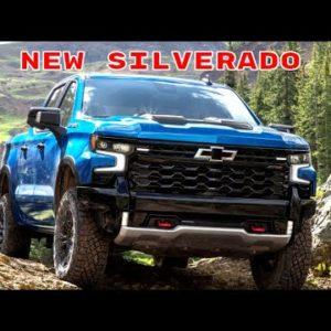 2022 Chevrolet Silverado Truck Revealed