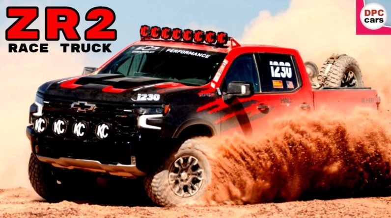 2022 Chevrolet Silverado ZR2 Race Truck