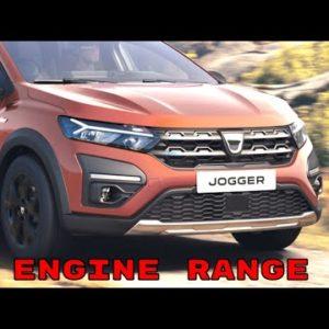 2022 Dacia Jogger Engine Range