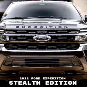 2022 Ford Expedition Stealth Edition Performance Package