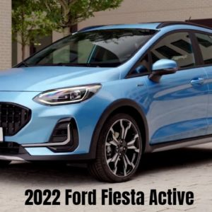2022 Ford Fiesta Active Revealed