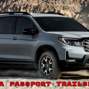 2022 Honda Passport TrailSport