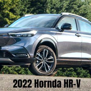 2022 Hornda HR-V Driver Enjoyment and Comfort
