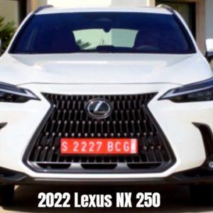 2022 Lexus NX 250