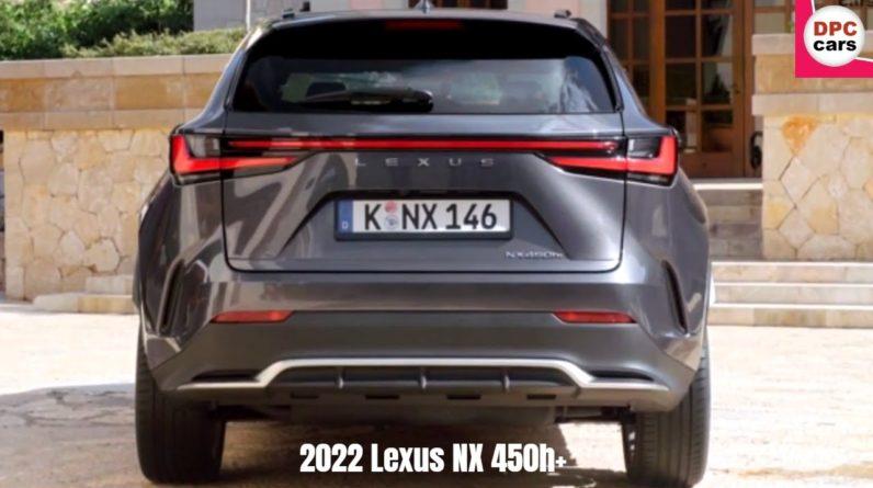 2022 Lexus NX 450h+