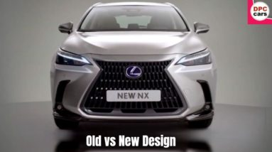 2022 Lexus NX Old vs New Design