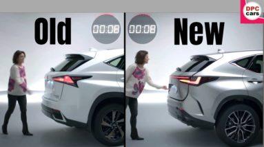 2022 Lexus NX Old vs New Power Rear Door Operation