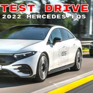 2022 Mercedes EQS Test Drive