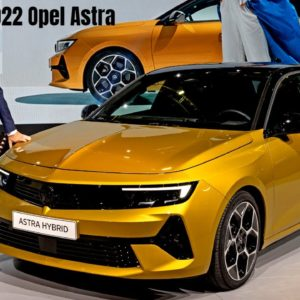 2022 Opel Astra Unveiling