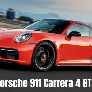 2022 Porsche 911 992 Carrera 4 GTS PDK in Lava Orange