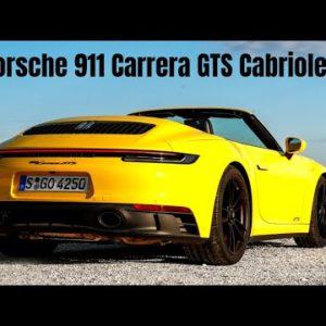 2022 Porsche 911 992 Carrera GTS Cabriolet PDK in Racing Yellow