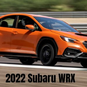 2022 Subaru WRX in Solar Orange