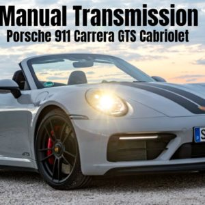2022 Porsche 911 992 Carrera GTS Cabriolet Manual Transmission in Crayon