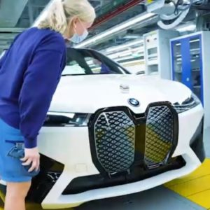 BMW iX Electric SUV Production