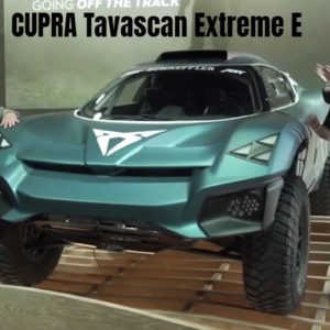 CUPRA Tavascan Extreme E Concept Unveiling