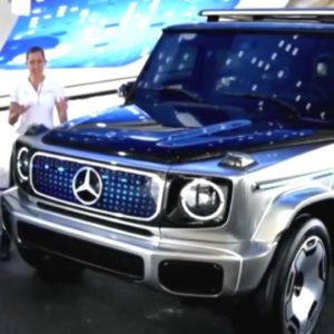 Electric Mercedes G-Class EQG and Maybach EQS