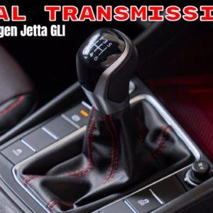Manual Transmission Interior of New 2022 Volkswagen Jetta GLI