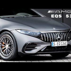 Mercedes AMG EQS 53 Ready To Battle Tesla Model S