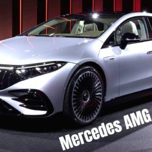 Mercedes AMG EQS 53 Revealed