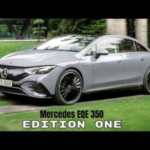 Mercedes EQE 350 Edition One Electric Sedan