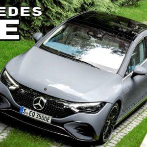 Mercedes EQE Electric Sedan Revealed