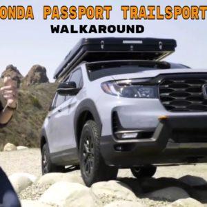 New 2022 Honda Passport TrailSport Rugged Roads Project Walkaround