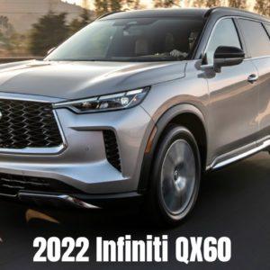 New 2022 Infiniti QX60