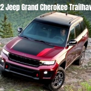 New 2022 Jeep Grand Cherokee Trailhawk