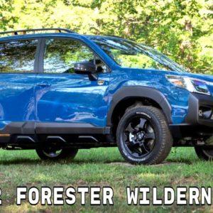 New 2022 Subaru Forester Wilderness