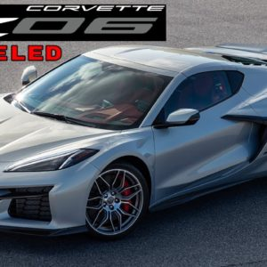 New 2023 Chevrolet Corvette Z06 Exterior Revealed Ahead of Debut